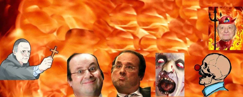 Séance douce d'exorcisme pratiquée sur Bozzo Clown , la prochaine sera confiée à la Sainte Inquisition